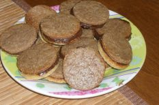 diétás recept, kakaó, keksz