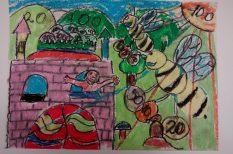 gyerek, iskola, rajzpályázat, takarékosság, zsebpénz
