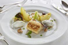 gasztronómia, kecskesajt, Mád, recept, saláta