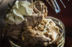 csokoládé fagyi, fagylalt, nyár