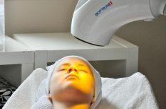 Bioptron, fényterápia, kezelés, mesterkozmetikus