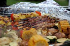 csirke, cukkini, grill húsok