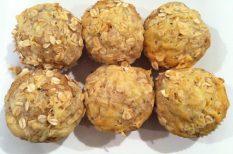 fogyókúra, gasztronómia, muffin, recept, sonka