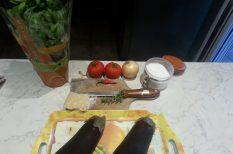 gasztronómia, oregánó, padlizsán, recept, tészta
