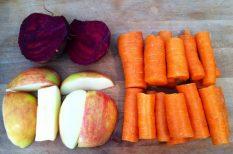 alma, cékla, gasztronómia, recept, répa, saláta
