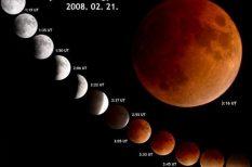 égi jelenség, föld, Hold, nap, teljes fogyatkozás, vérhold