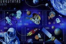 bélyeg, emlékek, Magyar Posta, sikerek, űrkutatás, UV-fény