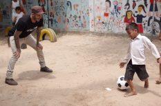 Beckham, film, foci, jótékonyság, Unicef
