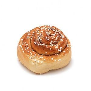 Fikabröd, csiga alakú édes svéd süti, Kép: fruktkorgal se