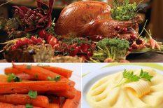 amerikai, gasztronómia, hálaadás, krumplipüré, pulyka, recept, sült répa