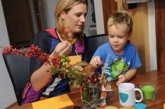 aktív élet, anyaság, Kovács Ági, lakásdísz, megelőzés, mentolos eukaliptuszos mellkaskenőcs, ősz, sport