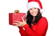 ajándék, fenyő, karácsony, ünnep