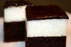 csokoládé, desszert, hab, kevert tészta