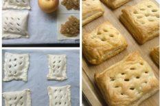 alma, farsang, gasztronómia, leveles tészta, olcsó, recept, süti