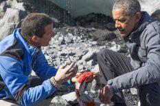 Barack Obama, Bear Grylls, Discovery Channel, hétvége, sztárok, túlélés, vadon