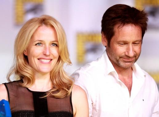 Az X-akták főszereplői: Gillian Anderson és David Duchovny, Kép: wikipedia