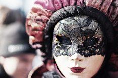 biztonság, farsang, karnevál, tréfa, turizmus, Velence, vígasság