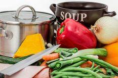 hagyma, leves, sertéshús, zöldség