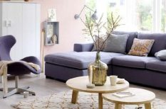 hangulat, lakás, lakberendezés, nyugalom, otthon, színek