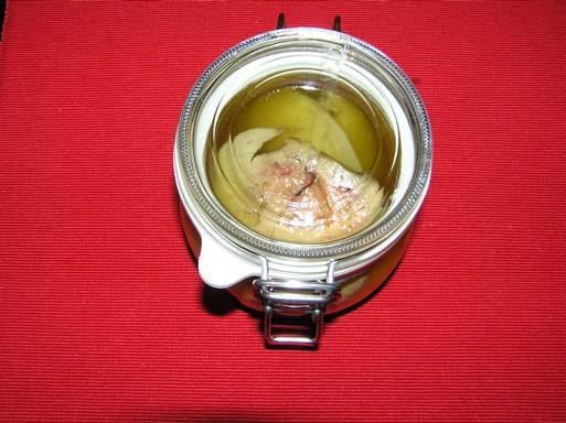 sült libamáj csatos üvegben, Kép: László Márta