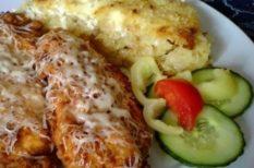 csirkemell, főzés, gasztronómia, ízdizájn, NoSalty, recept, tejföl, tepsis krumli