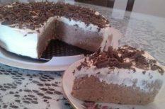 csokoládé, gesztenye, habtejszín, torta