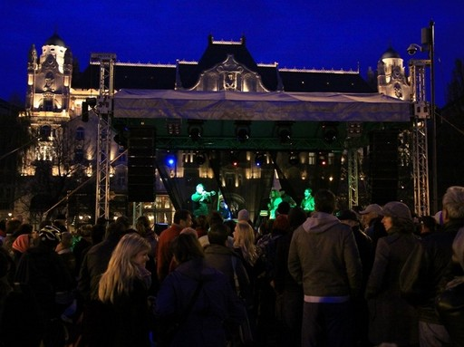Föld napja - koncert valahol, Kép: sajtóanyag