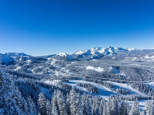 Hegyes, havas táj, Telluride, Colorado, USA, Fotó: @Visit Telluride/Ryan Bonneau