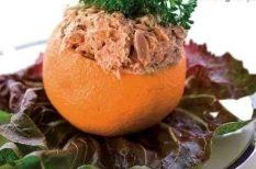 narancs, tonhal, zöldség