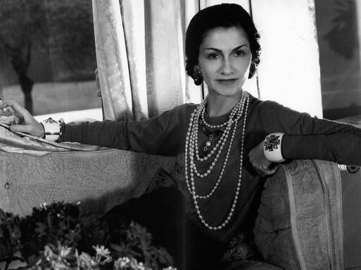Coco Chanel-fotó, elegáns sztárfotó, Kép: flickr