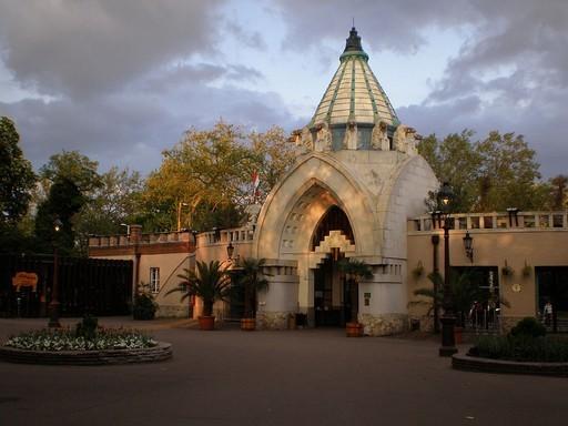 Fővárosi Nővény és Állatkert: főbejárat, Kép: sajtóanyag