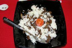 egészség, fafülgomba, keleti konyhaművészet, rizs, vega