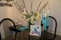 díszítés, hangulat, húsvét, lakás, otthon, ünnep