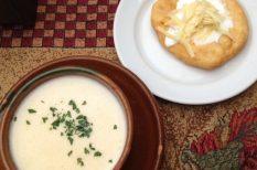 hagyma, lágos, leves, sajt