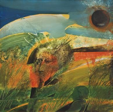 Kádár János Miklós alkotása - a teljes napfogyatkozás emléke