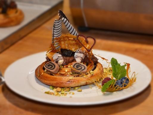 Kreatív kakaós csiga a Pedró Pékségtől, Kép: sajtóanyag