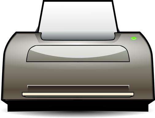 Nyomtató stilizált grafikája, Kép: pixabay