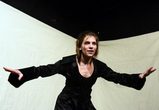 Orlando próbája, a főszereplő: Sárközi-Nagy Ilona, Kép: sajtóanyag