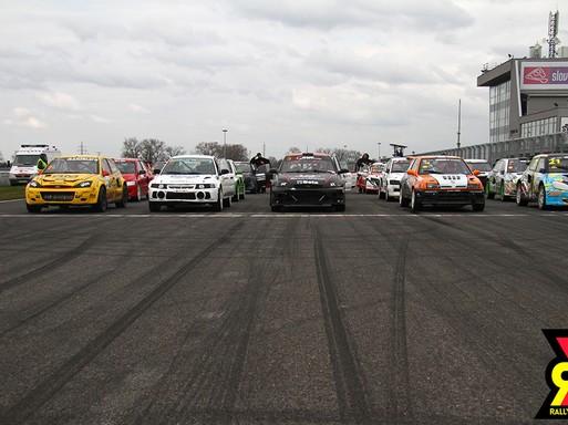 Rajt előtt a rallycross-csapat, Kép: sajtóanyag