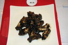 csirkeszárny, gasztronómia, gyömbér, kagylómártás, kínai recept, wok