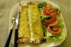 húsvéti sonka, palacsinta, sajt, sonka