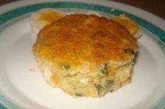 brokkoli, búzadara, karfiol, muffin, túró