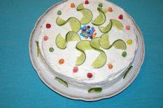 anyák napja, citrom, görög joghurt, joghurt, lime, meglepetés, torta, ünnep