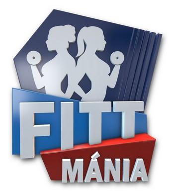 A Fitt mánia c. új RTL-es műsor emblémája