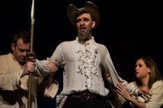 bemutató, Cervantes, ELTE TÓK Zenés Színpada, fiatalok, Frigyesi Tibor, hit, Ma Mancha lovagja