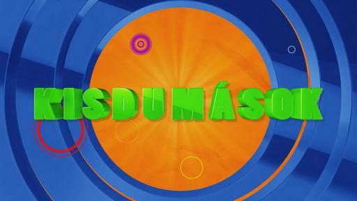 A Kisdumások c. új RTL-es műsor emblémája