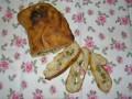 focaccia, házi sütés, kenyérféleség, mediterrán íz, olajbogyó