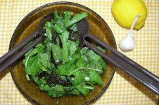fokhagyma, frissesség, rukkola, saláta, vitamin
