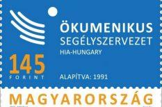 bélyeg, grafikus, Kara György, Magyar Posta, Ökumenikus Segélyszervezet