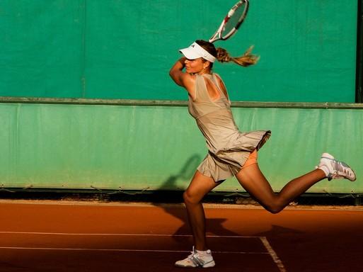 Teniszezőnő, Kép: pixabay